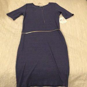 Solid Purple Julia Dress- LuLaRoe